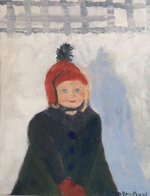 oil painting of my granddaughter, Sadie